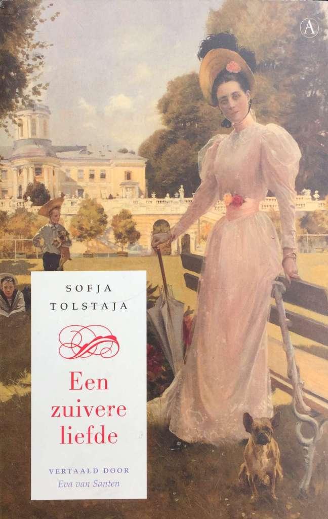 Tolstaja_Een zuivere liefde achtercover