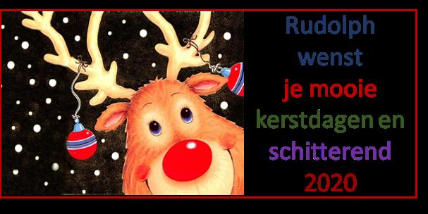 Rudolph Regter wenst een prachtig 2020