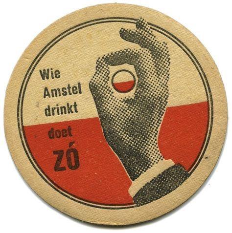 Viltje Amstel bier